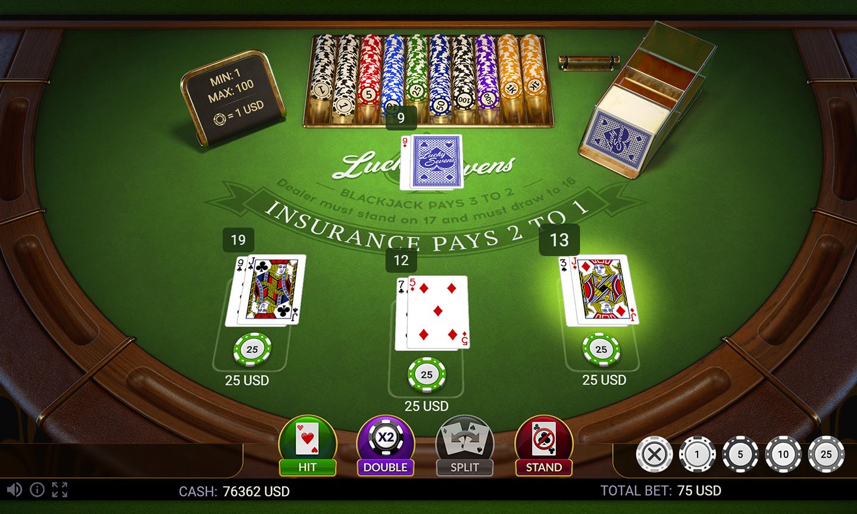 Bonus bet blackjack